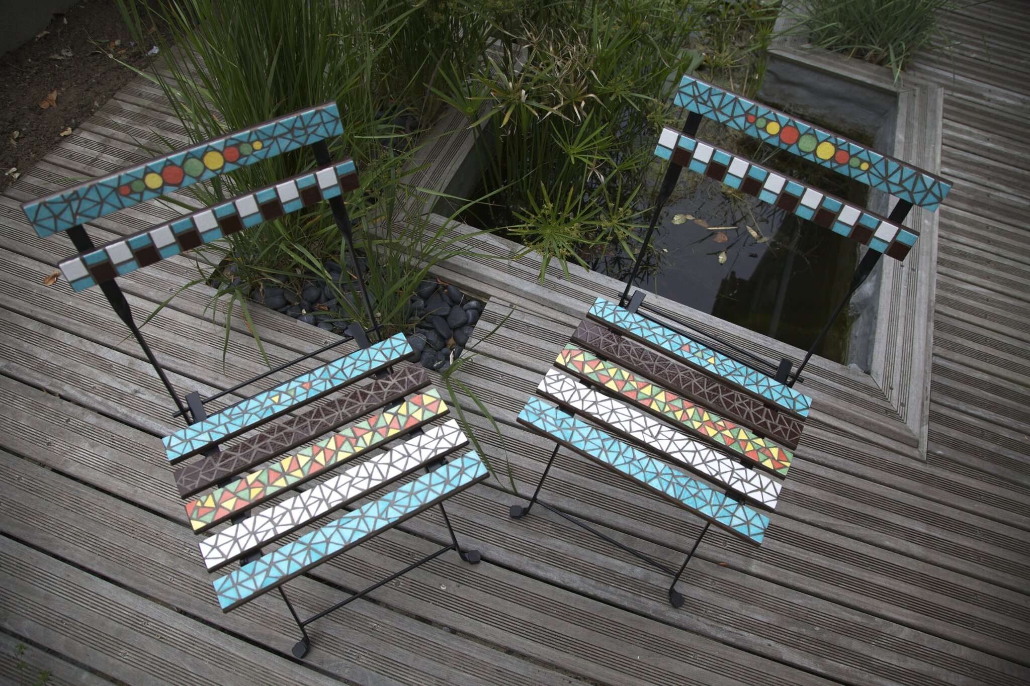 Table Et Chaise Mosaic Anouk Mosaic Mosaïque D 39art