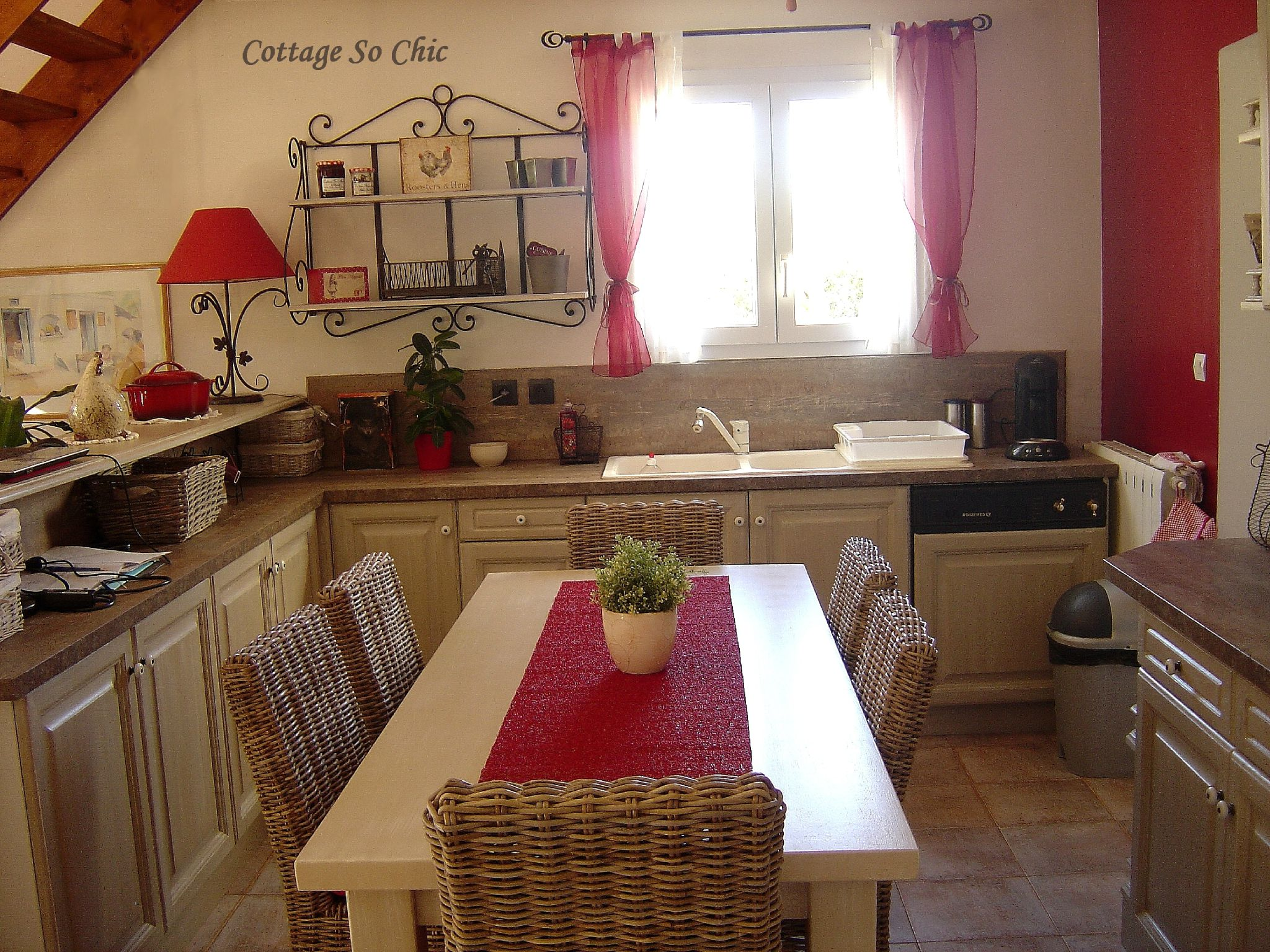 Deco Cuisine Campagne Chic Esprit Campagne Chic Cottage So Chic