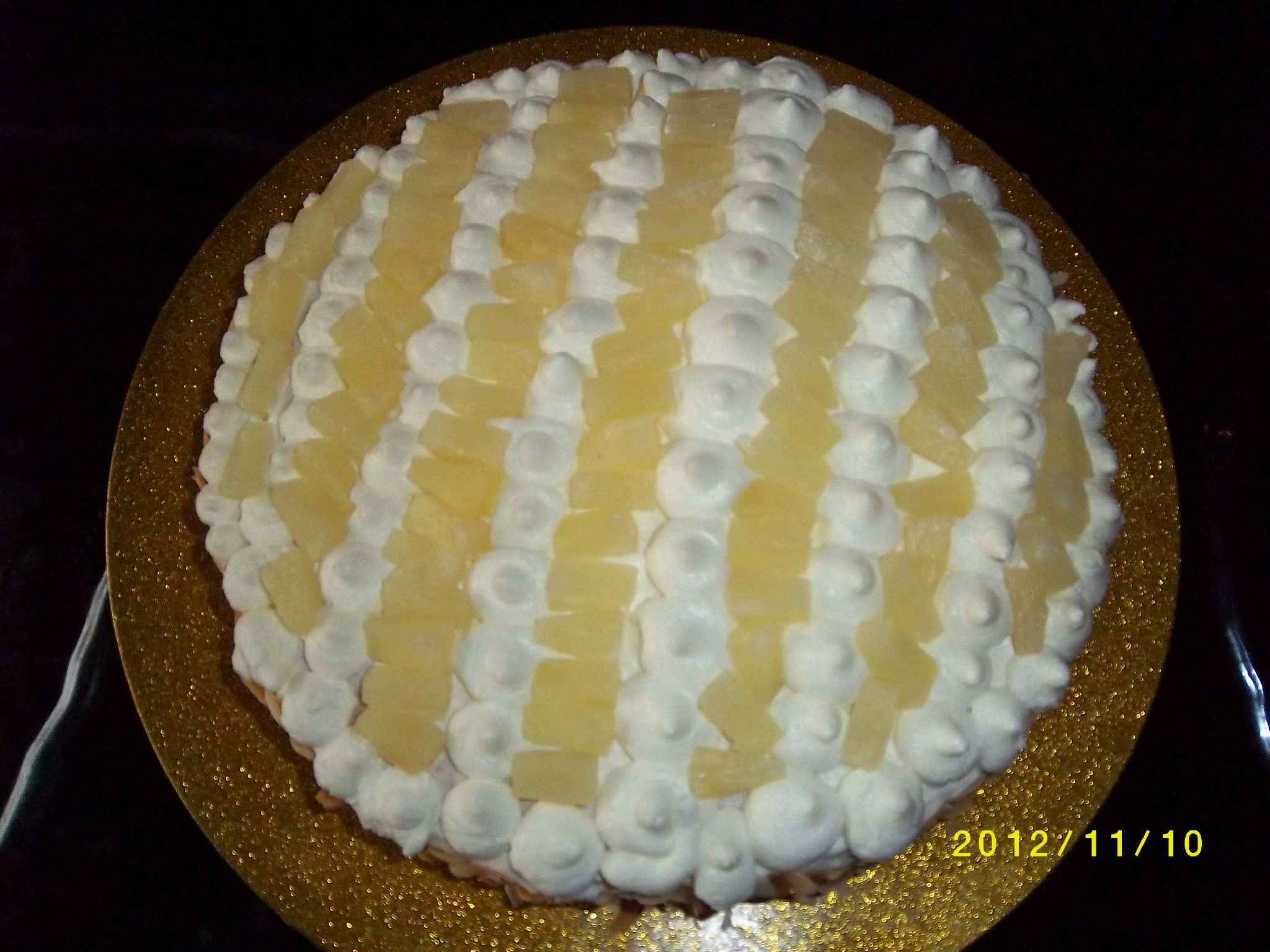 Creme Chantilly Decoration Gateau Gateau Fraicheur Ananas Chantilly Les Délices D 39ellena