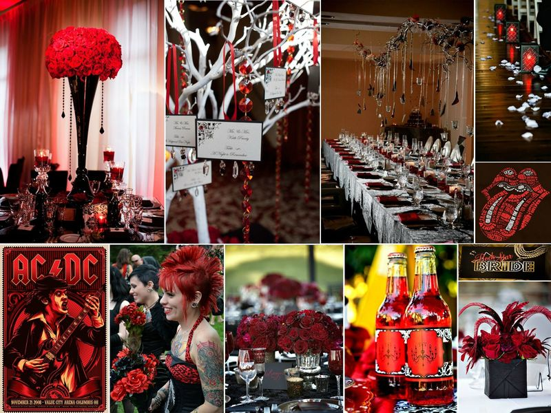 Decoration Theme Casino Mariage *rock & Glamour* - Rose Fantaisie *wedding Planner