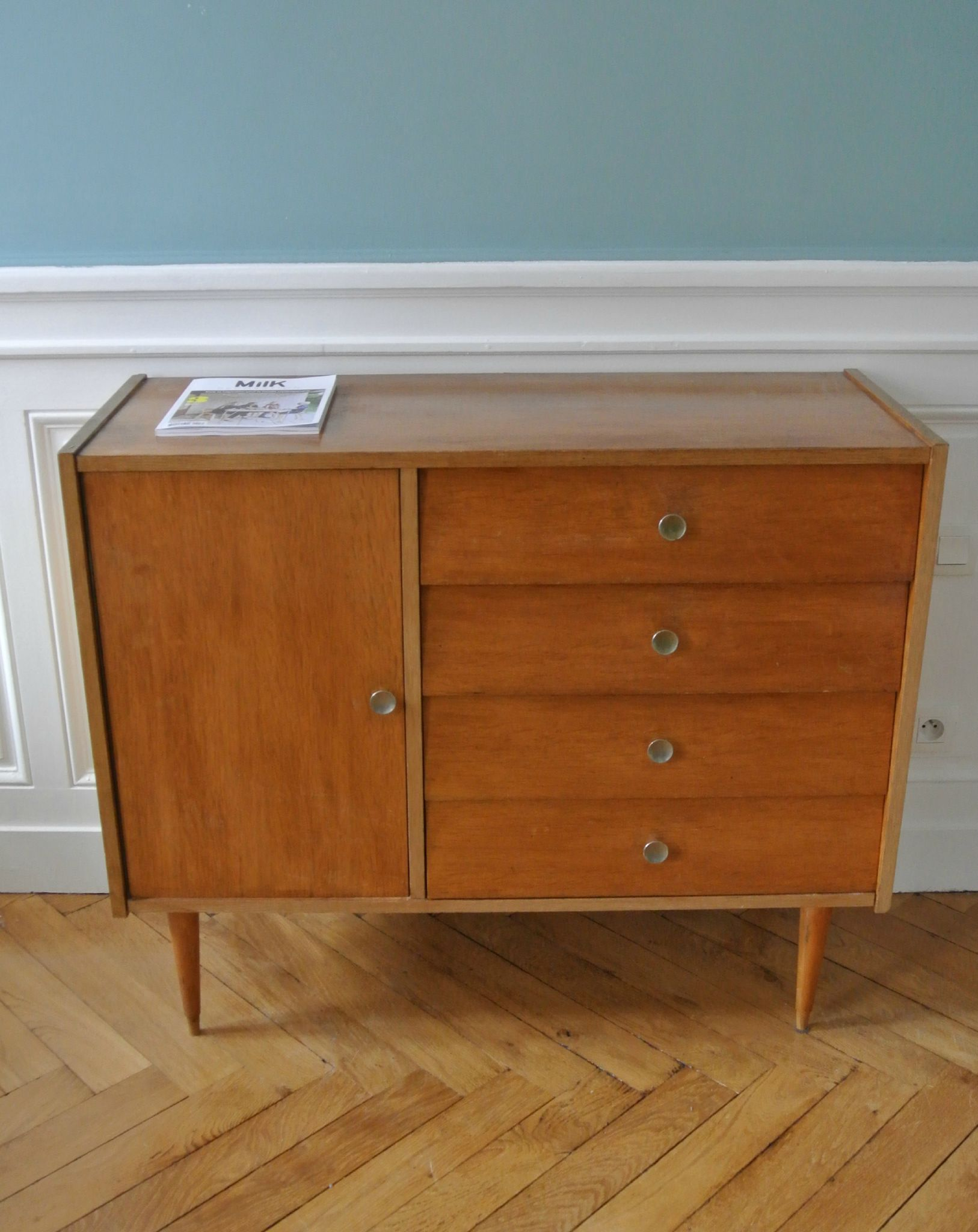 Commode Style Nordique Commode Vintage Style Scandinave