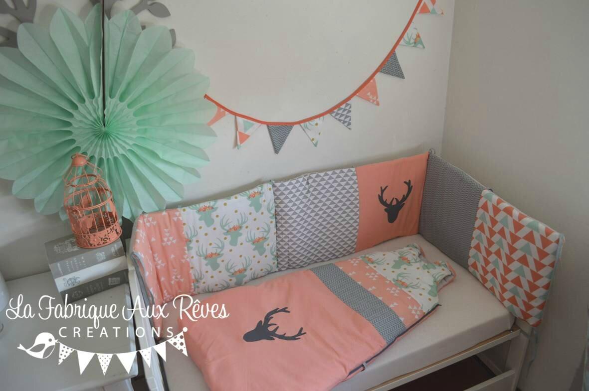 Chambre Bébé Orange Et Vert | Chambre Disign Awesome Chambre A ...
