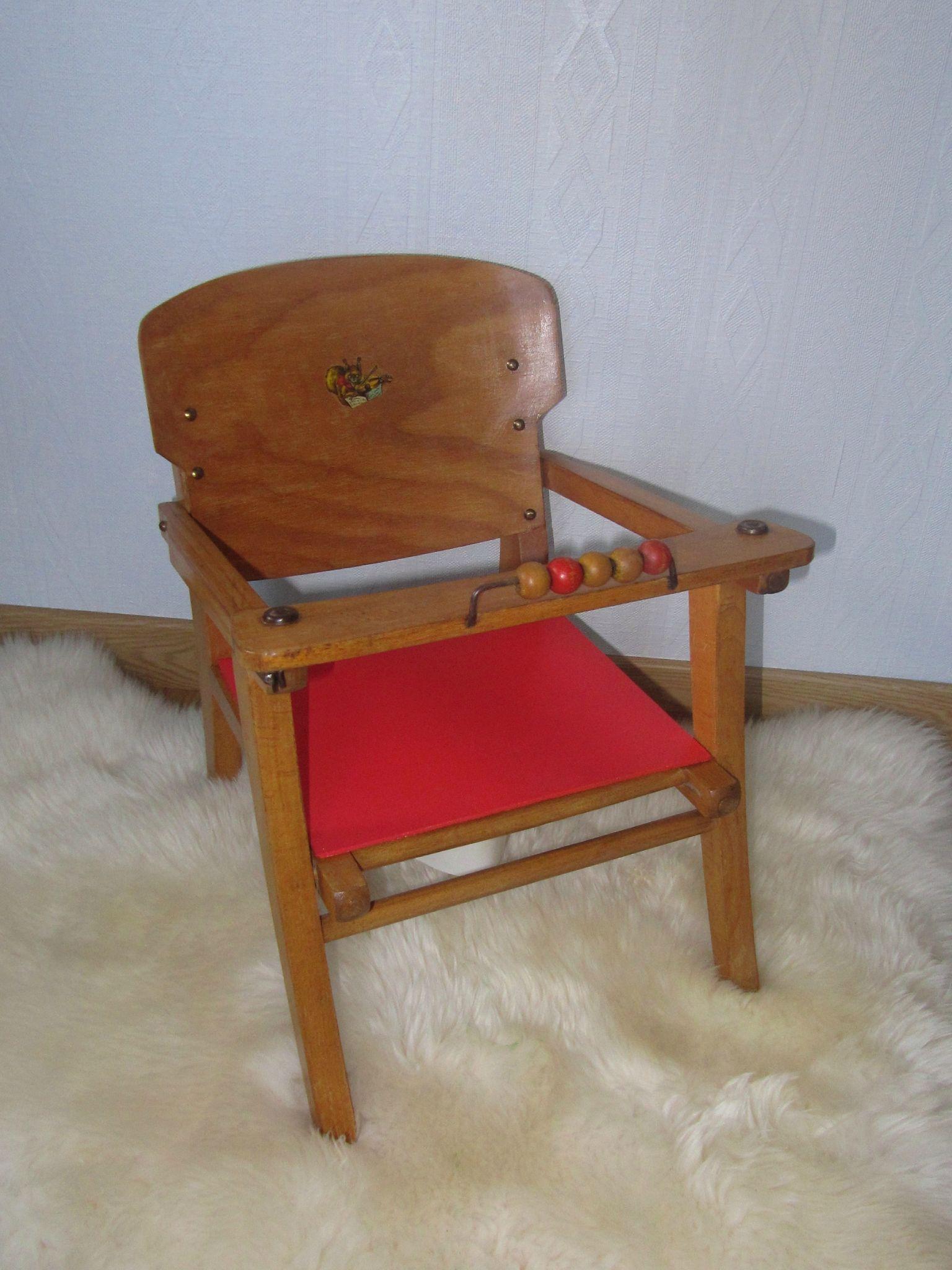 Petite Chaise Pot Mobilier Vintage Pour Enfants