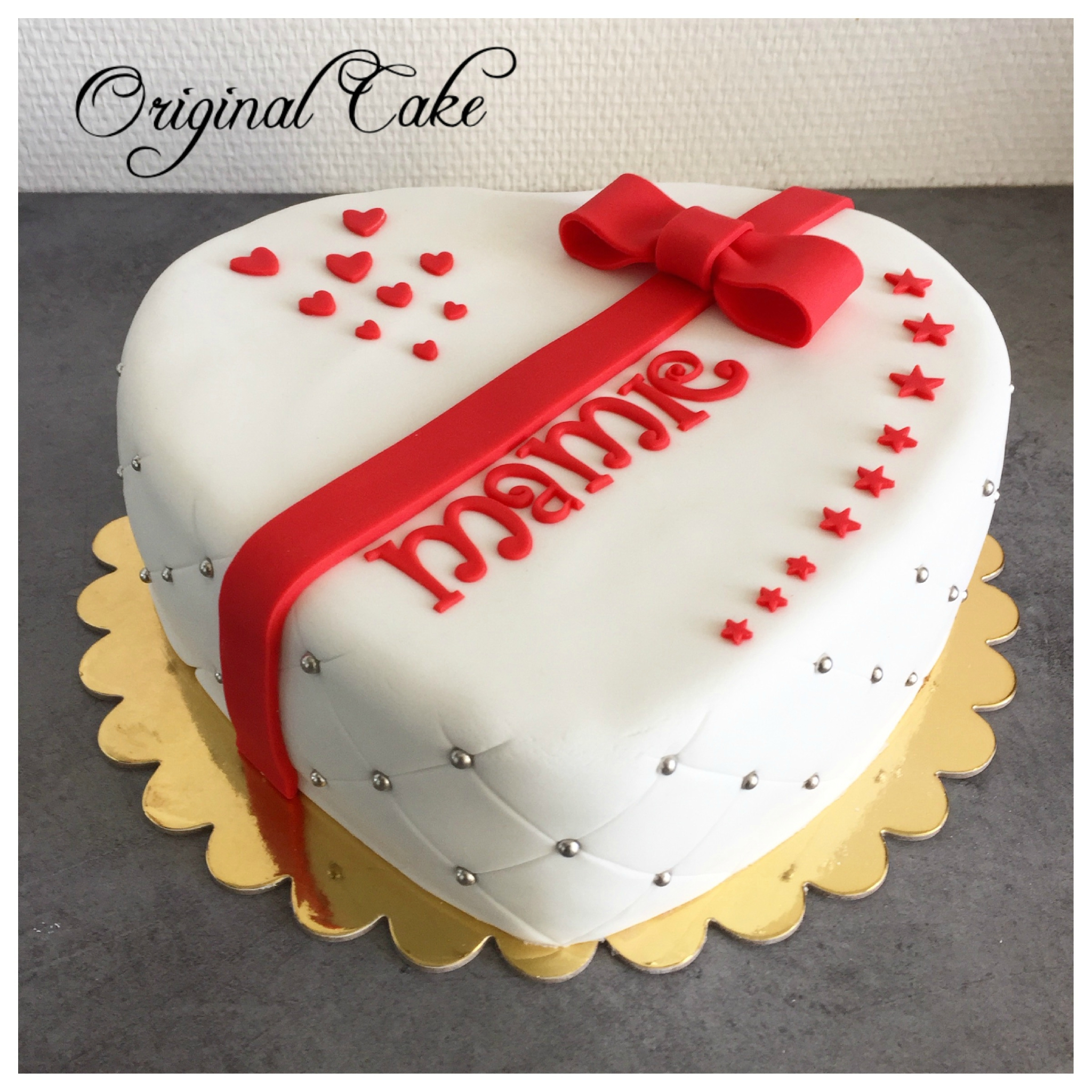 Decoration Gateau Originale Gâteau Coeur Original Cake