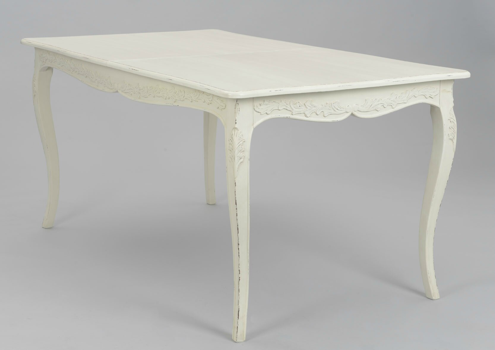 Table Blanche Rectangulaire Table Blanche Rallonge Maison Design Wiblia