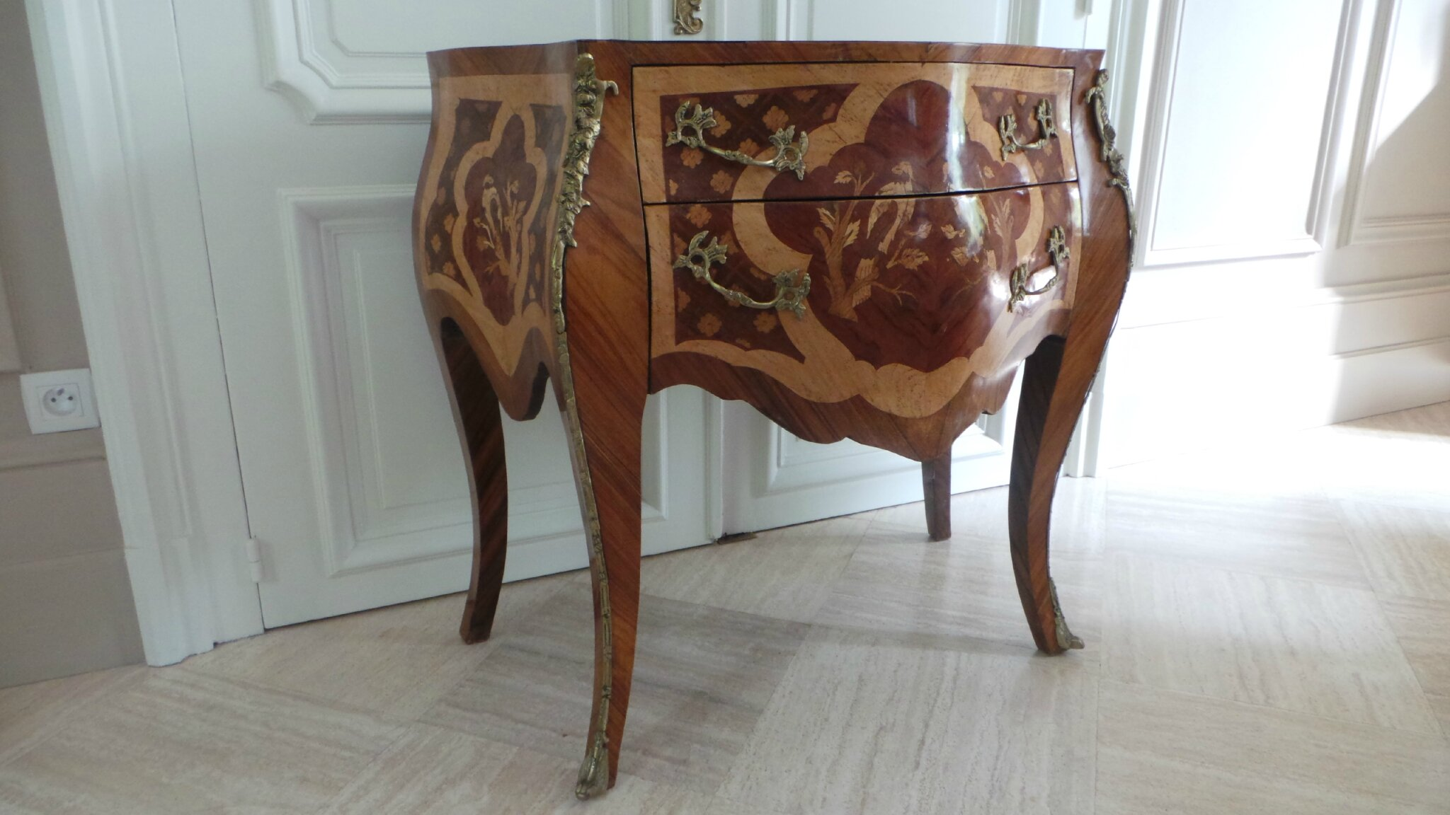 Commode Relooké Commode Relookee Fabulous Commode En Merisier Ancienne