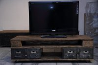 Petit meuble TV industriel - Volp'Art et Mimi