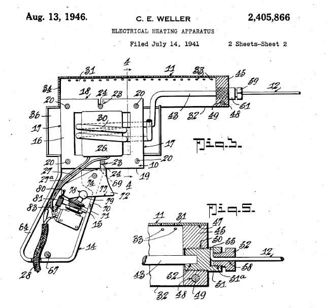 wiring diagram for weller soldering iron
