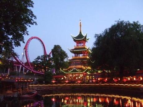 Tivoli in Copenhagen is a wonderland