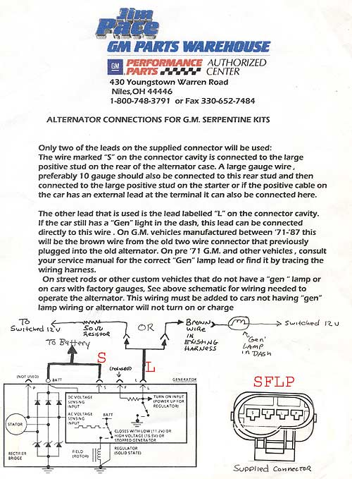 Ls Alternator Wiring Diagram circuit diagram template