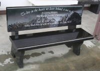 Memorial Bench Portfolio | Granite Benches | Pacific Coast ...