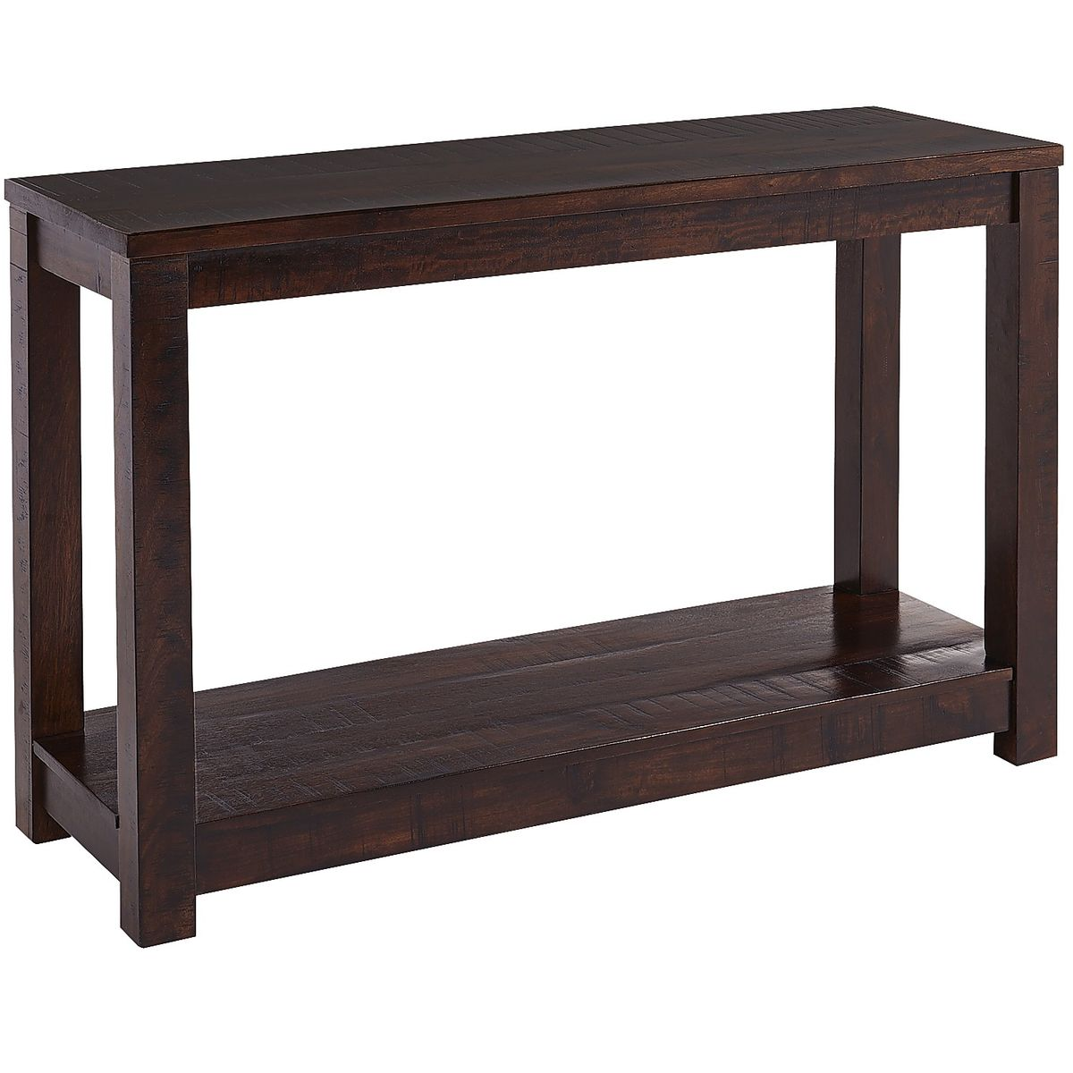 Living Room Side Tables For Sale Parsons Tobacco Brown Console Table Costa Rican Furniture