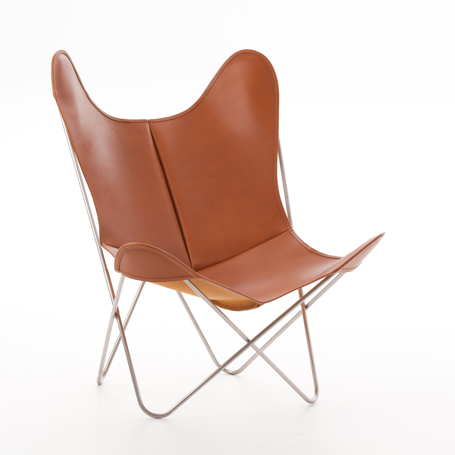 Butterfly Sessel Aa By Airborne Butterfly Chair Fauve Leder