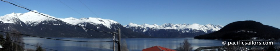 View from hotel in Haines