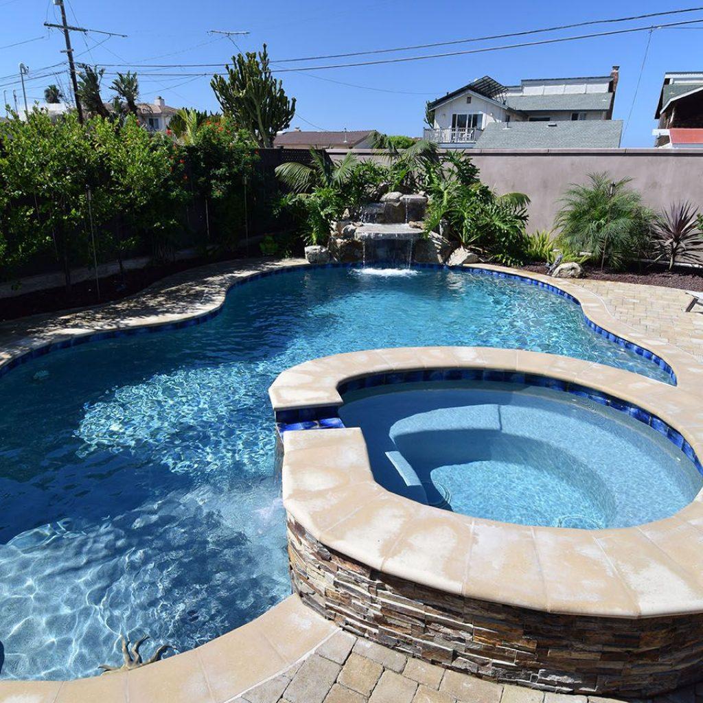 Jacuzzi Pool Design Custom Spas Hot Tubs By Pacific Sun Pools Spas Offer Relaxation