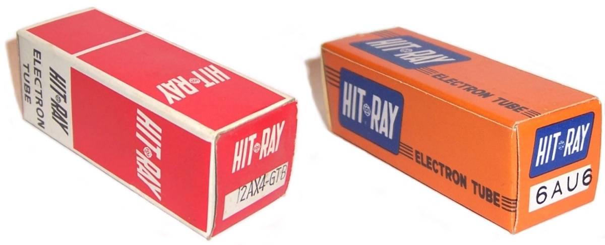 Pacific TV - Technical Data/Phono Cartridge/Tube Box Photos