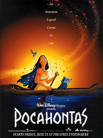 Locandina italiana Pocahontas