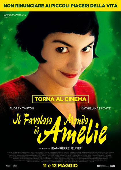 Locandina italiana Il favoloso mondo di Amelie