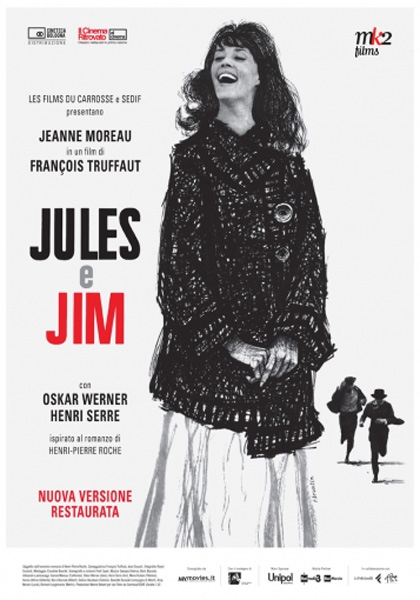 Locandina italiana Jules e Jim