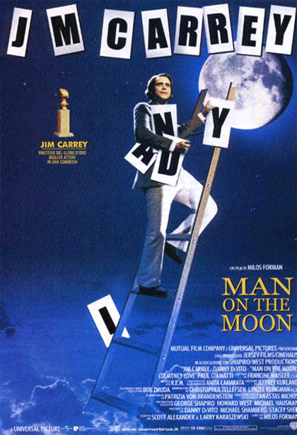 Locandina italiana Man on the Moon