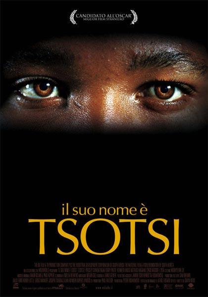 Locandina italiana Il suo nome è Tsotsi