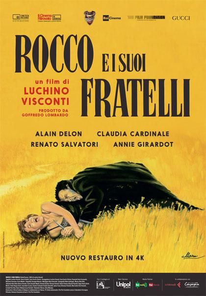 Locandina italiana Rocco e i suoi fratelli