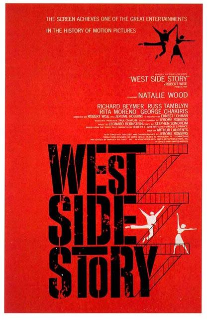 Locandina italiana West Side Story