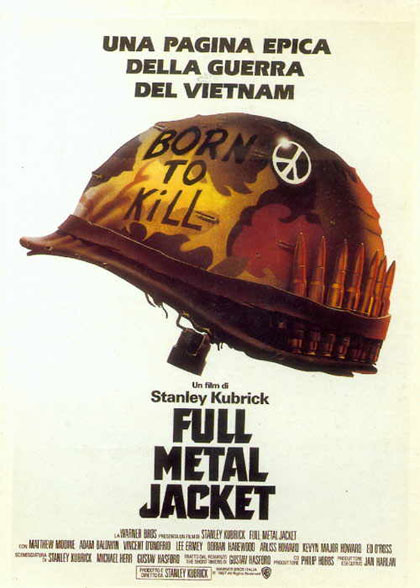 Locandina italiana Full Metal Jacket