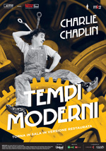 Locandina italiana Tempi moderni