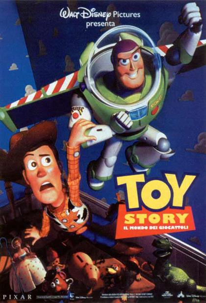 Locandina italiana Toy Story - Il mondo dei giocattoli