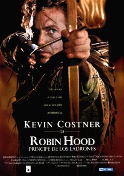 Poster Robin Hood principe dei ladri