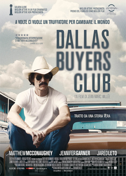 Locandina italiana Dallas Buyers Club