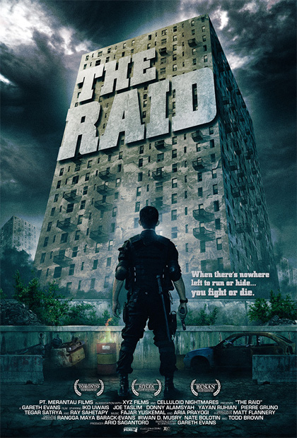 Locandina italiana The Raid: Redemption