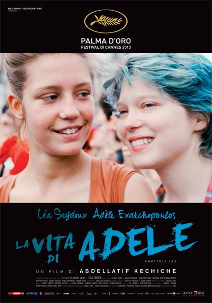 Locandina italiana La vita di Adele