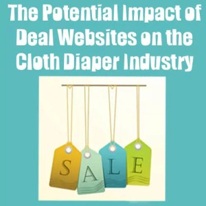 The Potential Impact Of Deal Websites On The Cloth Diaper Industry. Have you ever given any thought to what goes on behind the scenes when you buy cloth diapers from sites like Zulilly, BabySteals, etc.? Hear how these daily deals sites are viewed by retailers, consumers, and manufacturers.