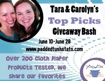 Tara and Carolyn's Top Picks Giveaway Bash