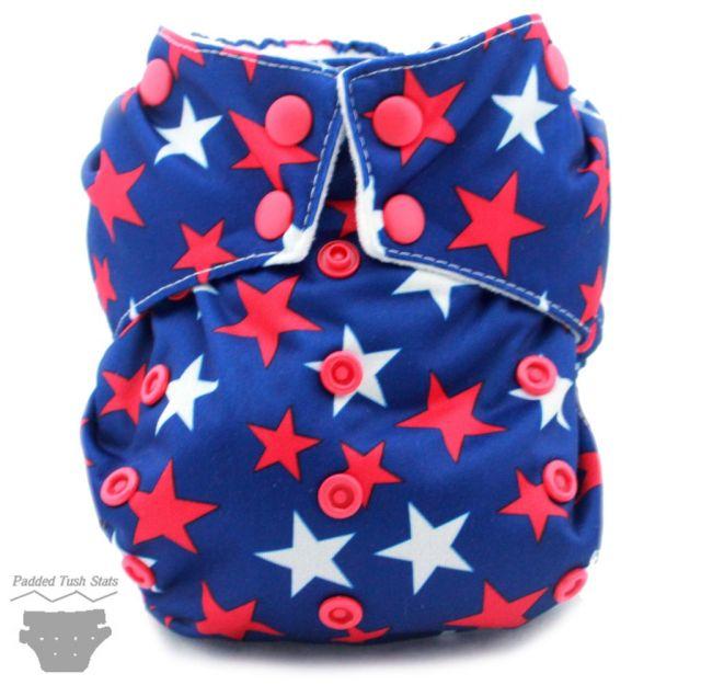 Moraki Pocket Cloth Diaper - Front View