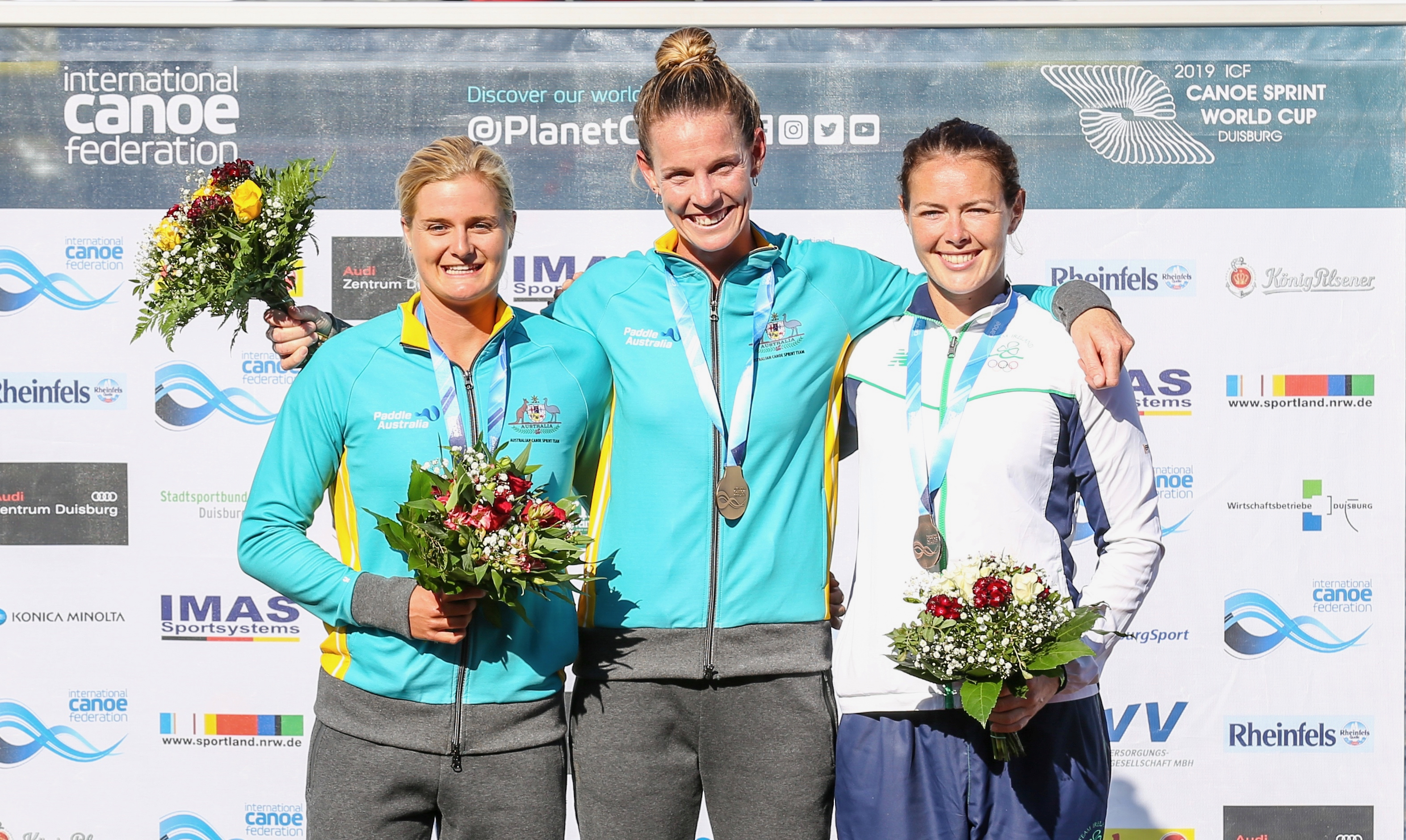 Do It Yourself Werkstatt Duisburg Golden Silver Wrap Of Canoe Sprint World Cup Ii In Duisburg