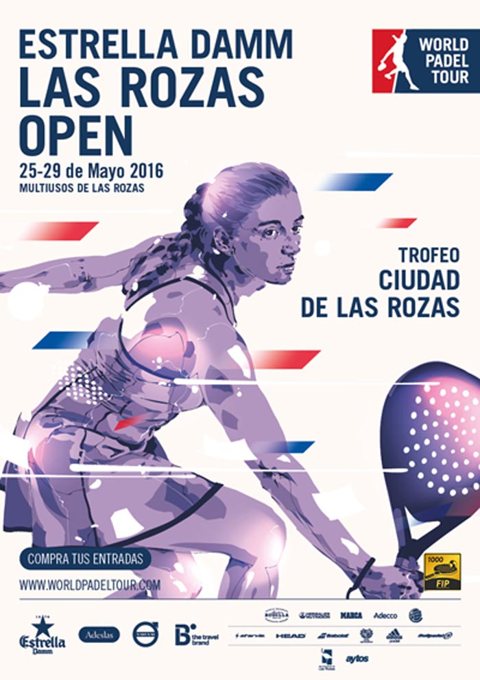 Inscritas y ranking femenino World Padel Tour Las Rozas 2016