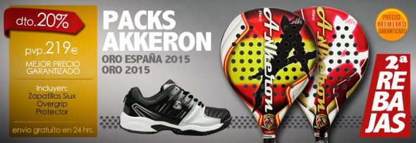 Packs en Oferta Akkeron