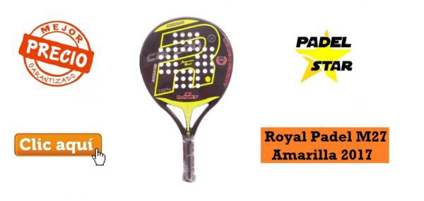 Royal Padel M27 Amarilla 2017