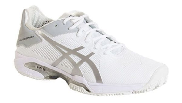 Asics Gel Solution Speed 3 Clay Blancas