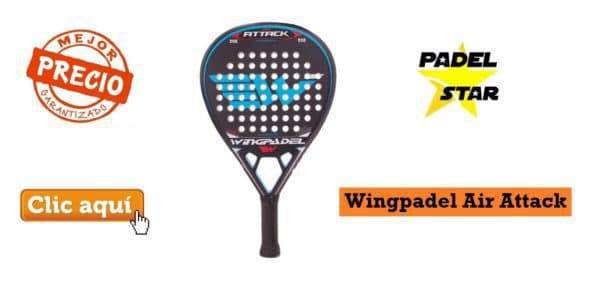 Mejor Pala POTENCIA Wingpadel Air Attack