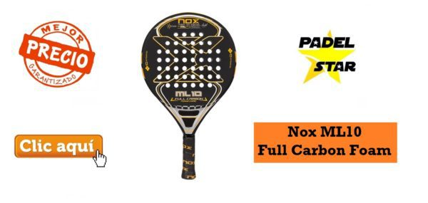 Pala CONTROL Nox Ml10 Full Carbon Foam