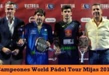 Campeones World Padel Tour Mijas 2017