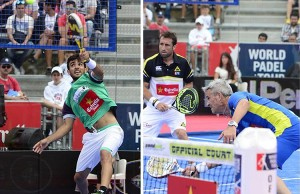 Montaje semifinales World Padel Tour