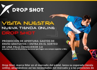 Drop Shot presenta su nueva página web de venta on-line