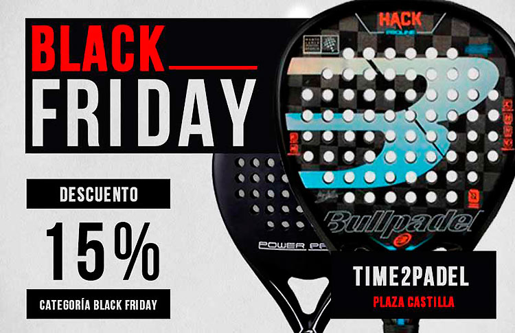 Un Black Friday irresistible y repleto de sorpresas en Time2Padel