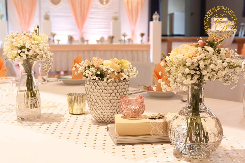 Hochzeitsdeko Tisch Vintage Beispiele Fur Blumen Auf Runden