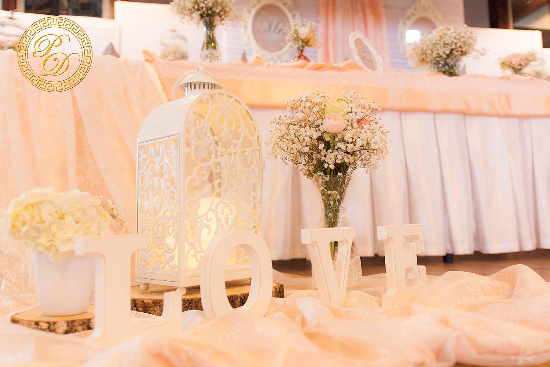 Vintage Hochzeitsdeko Kirchenschmuck Mit Schleierkraut Und